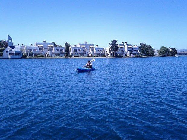 """""""Foster City Kayaking"""""""