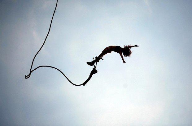 """Bungee Jumping Gorges du Verdon"""