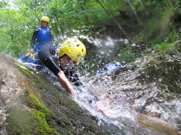 """Canyoning Durance River"""