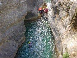 Fournel Canyon, L'Argentière la Bessée, Hautes Alpes