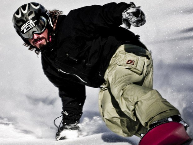 """Cortina d' Ampezzo Snowboarding"""