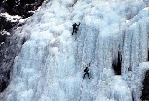 """Cortina d' Ampezzo, Veneto Ice Climbing"""