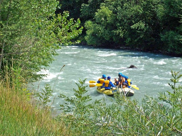 """Croviana, Noce River Rafting"""
