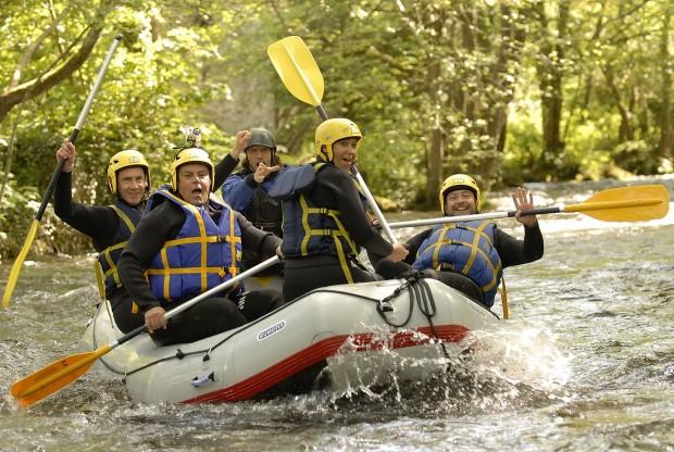 """Rafting Saint Martin du Puy"""