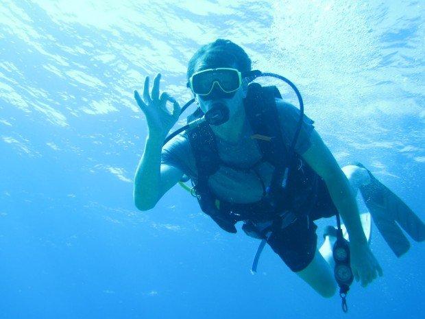 """""""Scuba Diving Gap"""""""