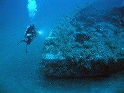 Zanoni Shipwreck, Ardrossan
