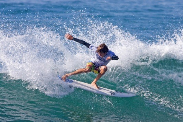 """""""Surfer at Merewether Beach"""""""