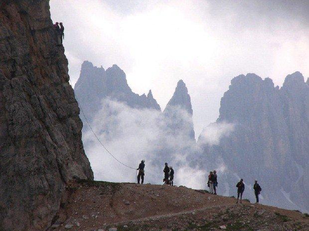 """""""Cortina d' Ampezzo Mountain Climbing"""""""