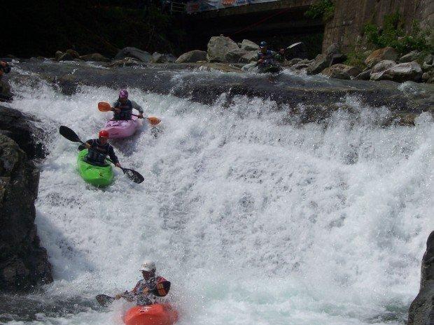 """""""Kayaking in Santa Giustina"""""""
