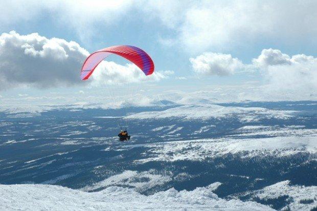 """""""Paragliding in Åre"""""""