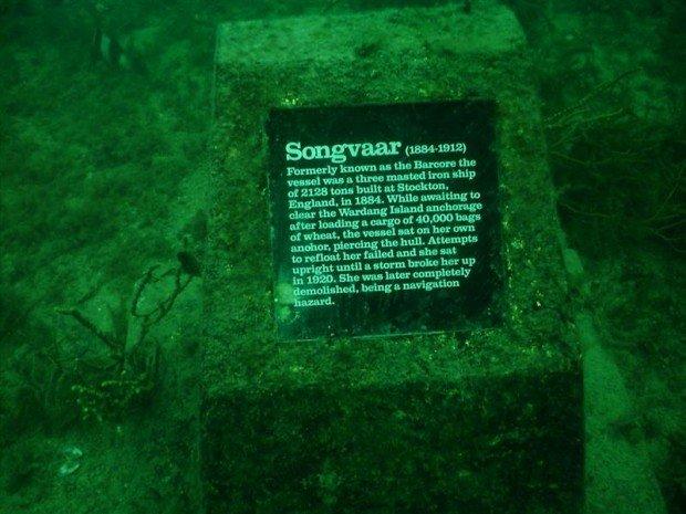 """""""Scuba Diving Songvaar Wreck"""""""
