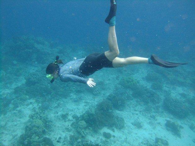 """Snorkeling Hanson Bay"""