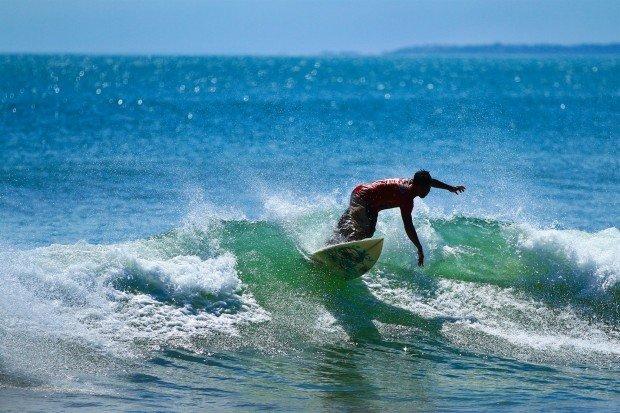 """Surfing Vivonne Bay"""