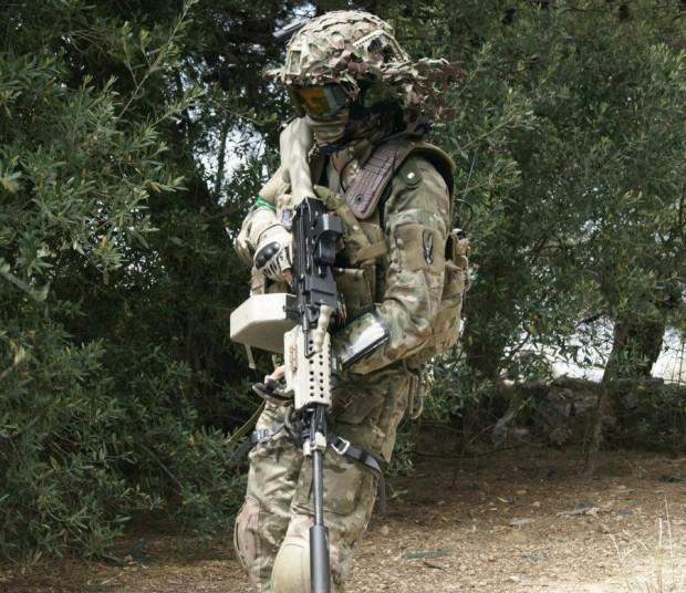 """Airsoft soldier"""