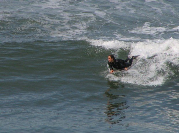 """Carlsbad State Beach Bodyboarder"""