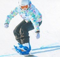 """'Chelmos, Achaea Snowboarding"""""""