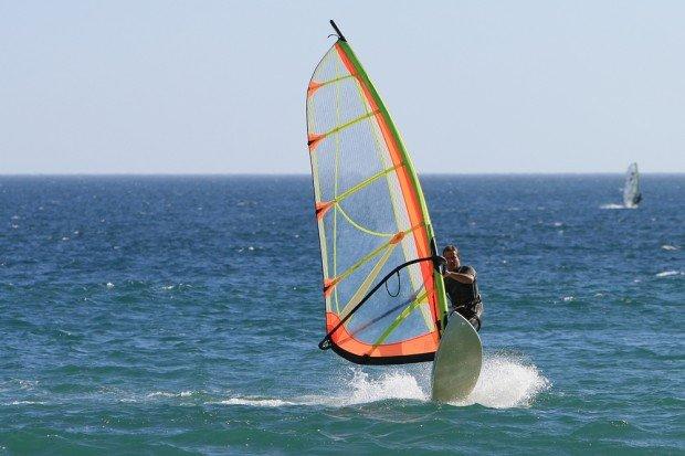 ''Jardim do Mar, Madeira wind surfing'