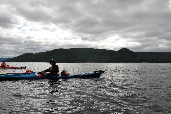 """""""Kayaking at L'Anse Saint Jean"""""""