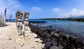 Kona Tiki Beach, Kailua Kona