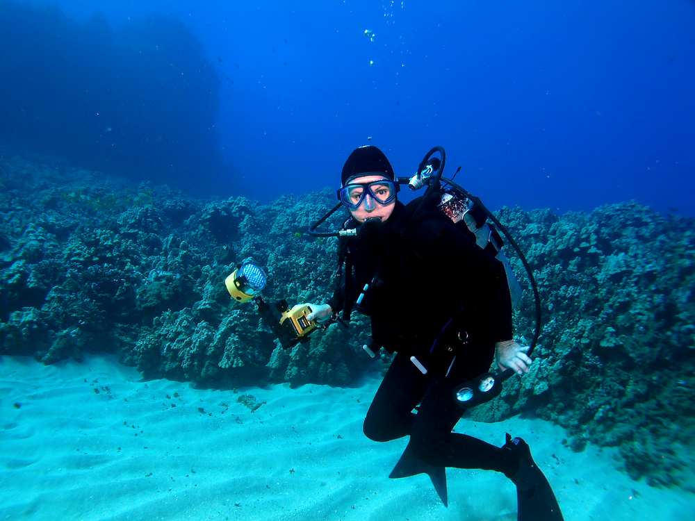 Water Board Sports >> Scuba Diving La aloa Bay Kailua Kona Hawaii USA