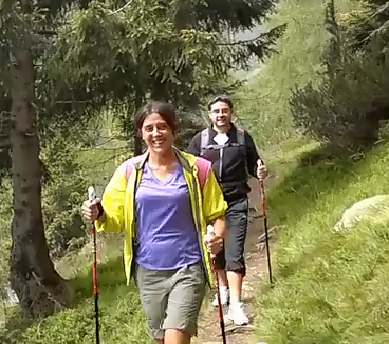 """""""Nordic Walking in Val di Fiemme, National Vitality Park, Cavalese"""""""
