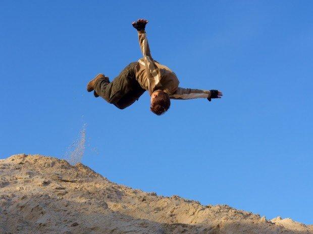 """Parkour jump"""