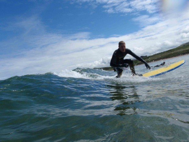 """""""AAAA Sandend, Surfing"""""""