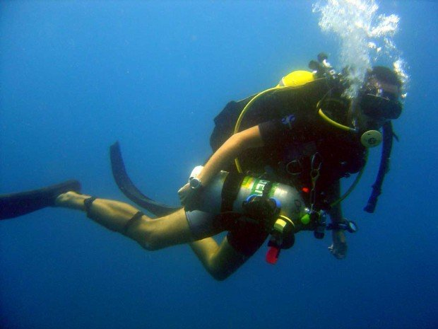 """""""Scuba diving"""""""