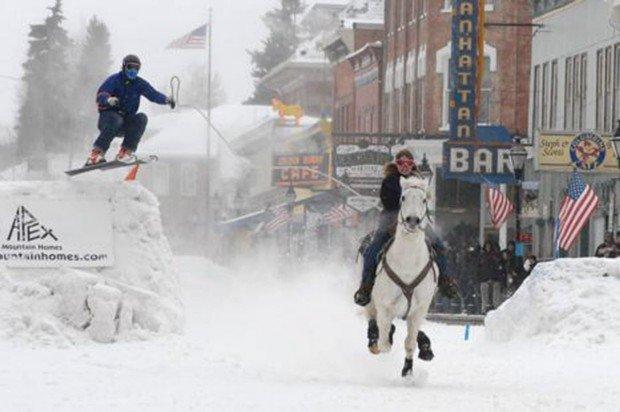 """""""Ski Joring at Whistler"""""""