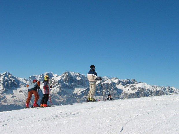 """""""Snowshoeing at Dolomites di Brenta mountain """""""