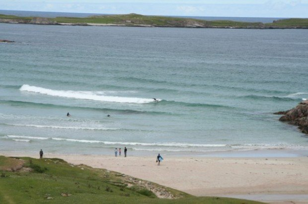 """""""Surfing at Durness"""""""