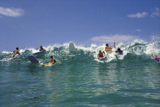"""""""Bondi Beach, Sydney Surfing"""""""