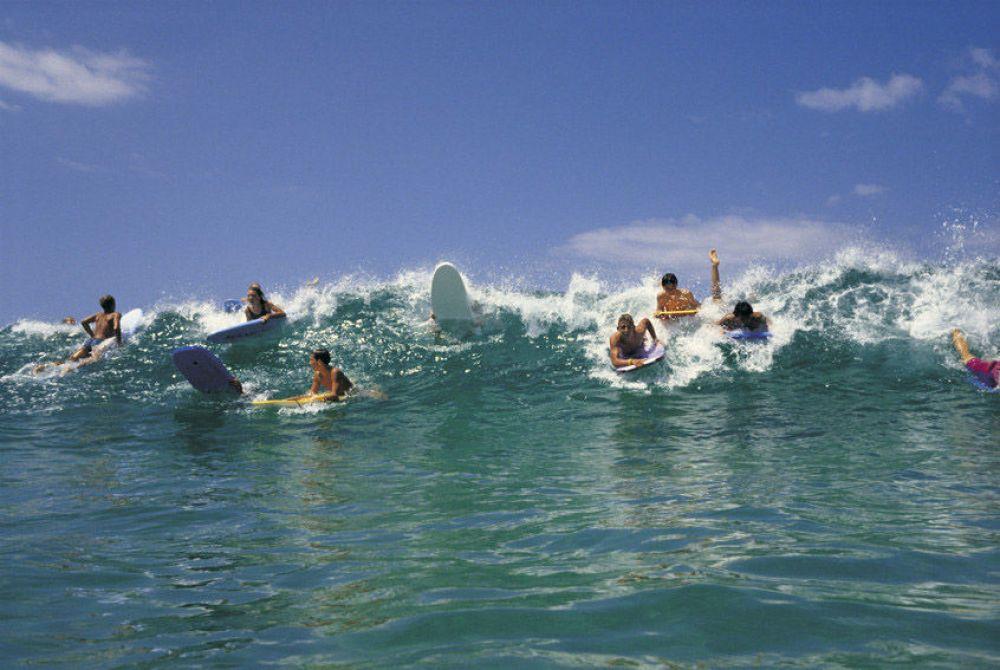 Bondi Beach Sydney Surfing
