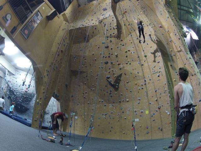 Indoor Rock Climbing Roxx Climbing Center Christchurch