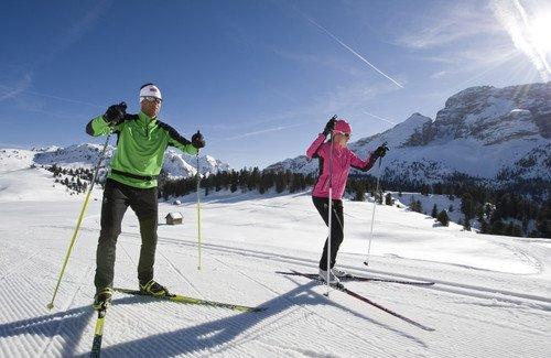 """Cross Counrty Skiing in Dobbiaco"""