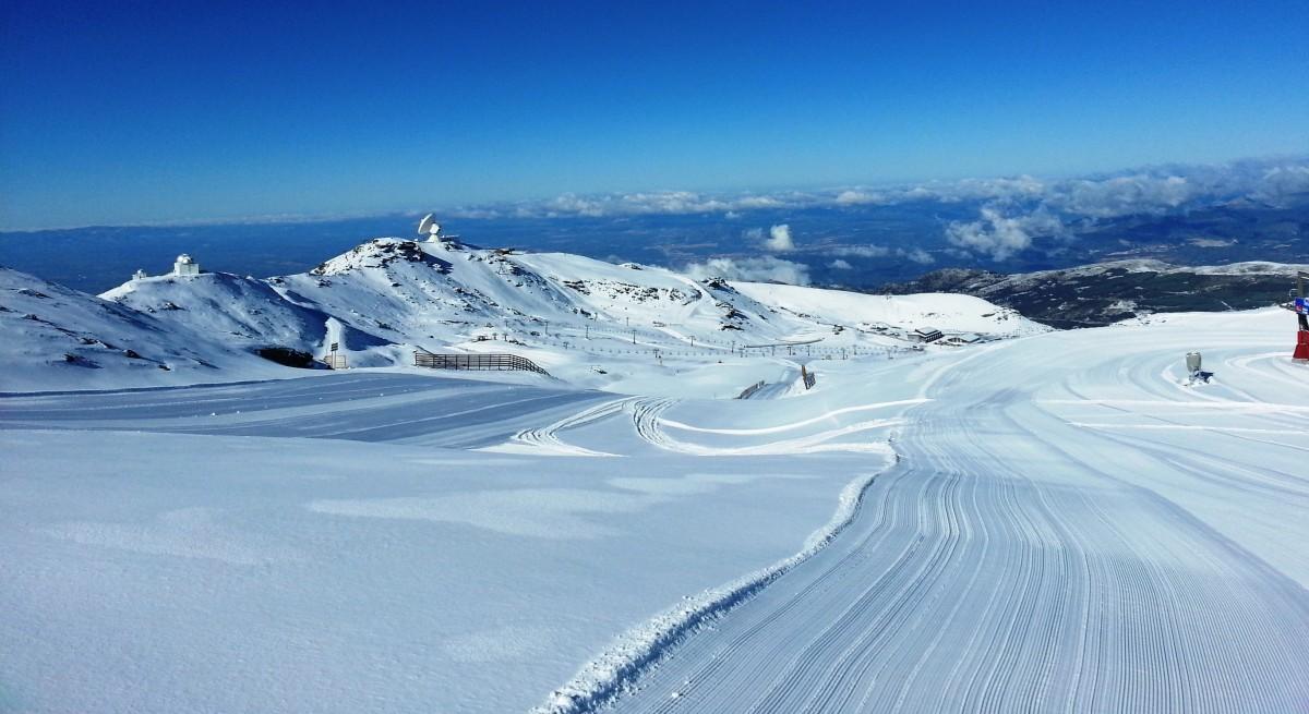 Cross Country Skiing Sierra Nevada Ski Resort Granada