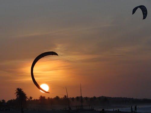 """Cumbuco, Ceará Kitesurfing"""
