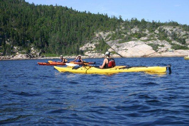 """""""Kayaking at Saguenay"""""""