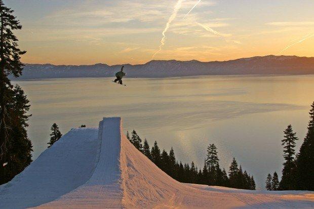 """Homewood Ski Resort Snowboarding"""
