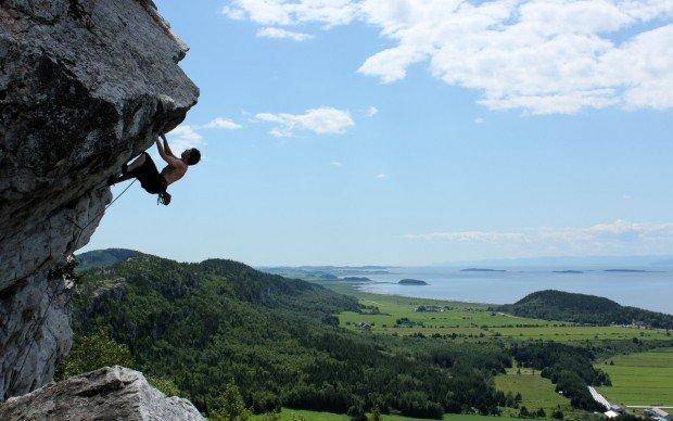 """Kamouraska rock climber"""