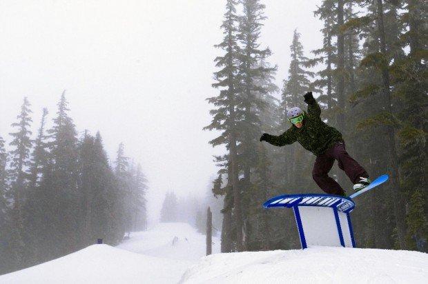"""""""Mount Hood Skibowl, Snowboarding"""""""