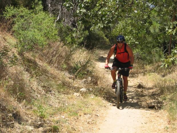 """""""Mountain Biking at Big Bear"""""""