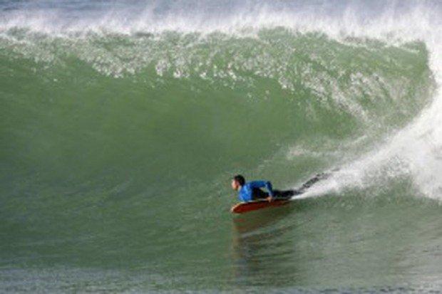 """Nobadeer Beach Bodyboarding"""
