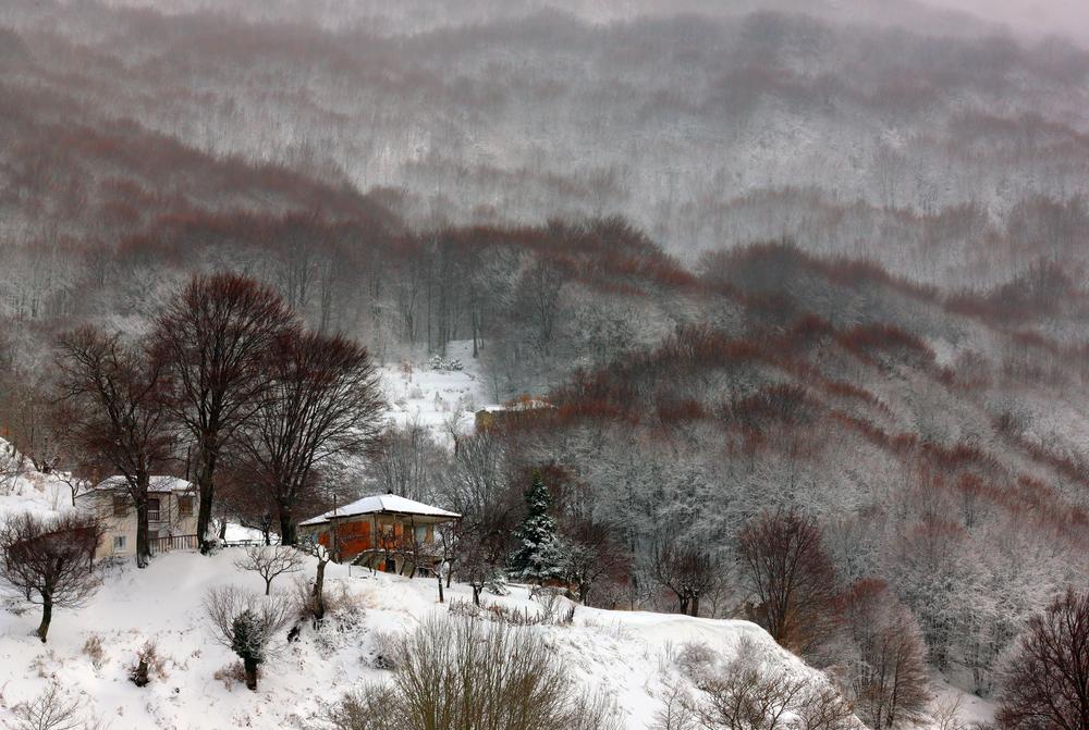 Alpine skiing Pelion Volos Thessaly Region Greece