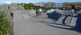 Washington Way Skatepark, Christchurch