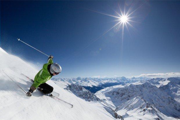 """""""Skiing downhill"""""""