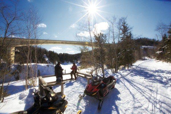 """Snowmobiling Canada """