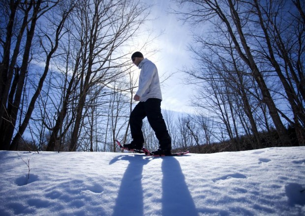 """Snowshoeing Canada"""