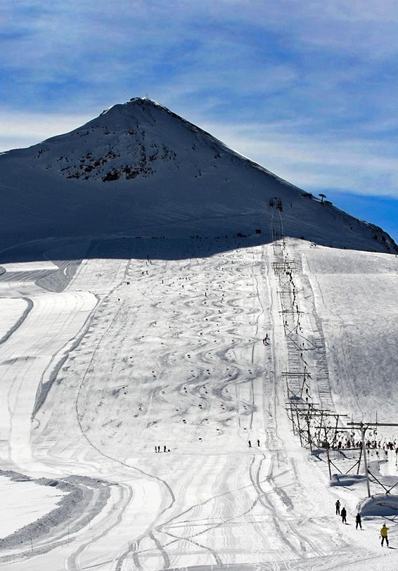 """""""Summer Skiing in Passo dello Stelvio"""""""