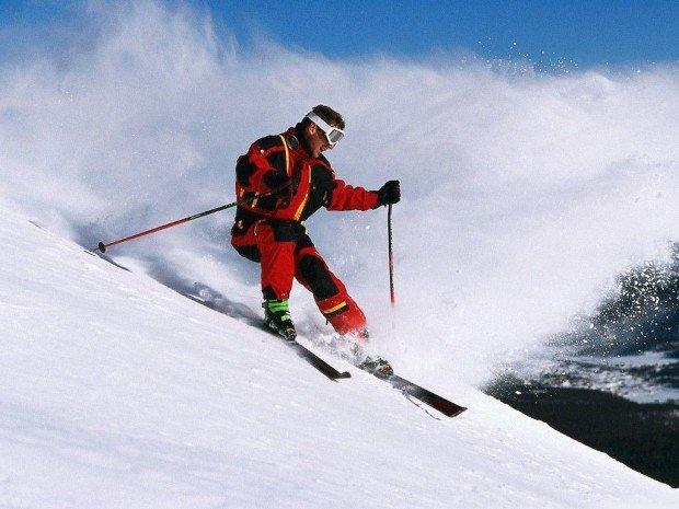 """Alpine Skiing Diamond Head Trail"""